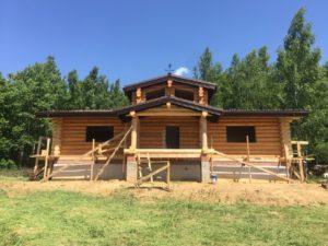 строящийся дом архилес