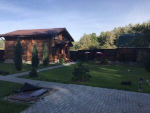 Дом из сруба проект-2.1 архилес