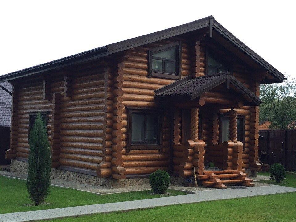 дом из сруба проект-2 архилес