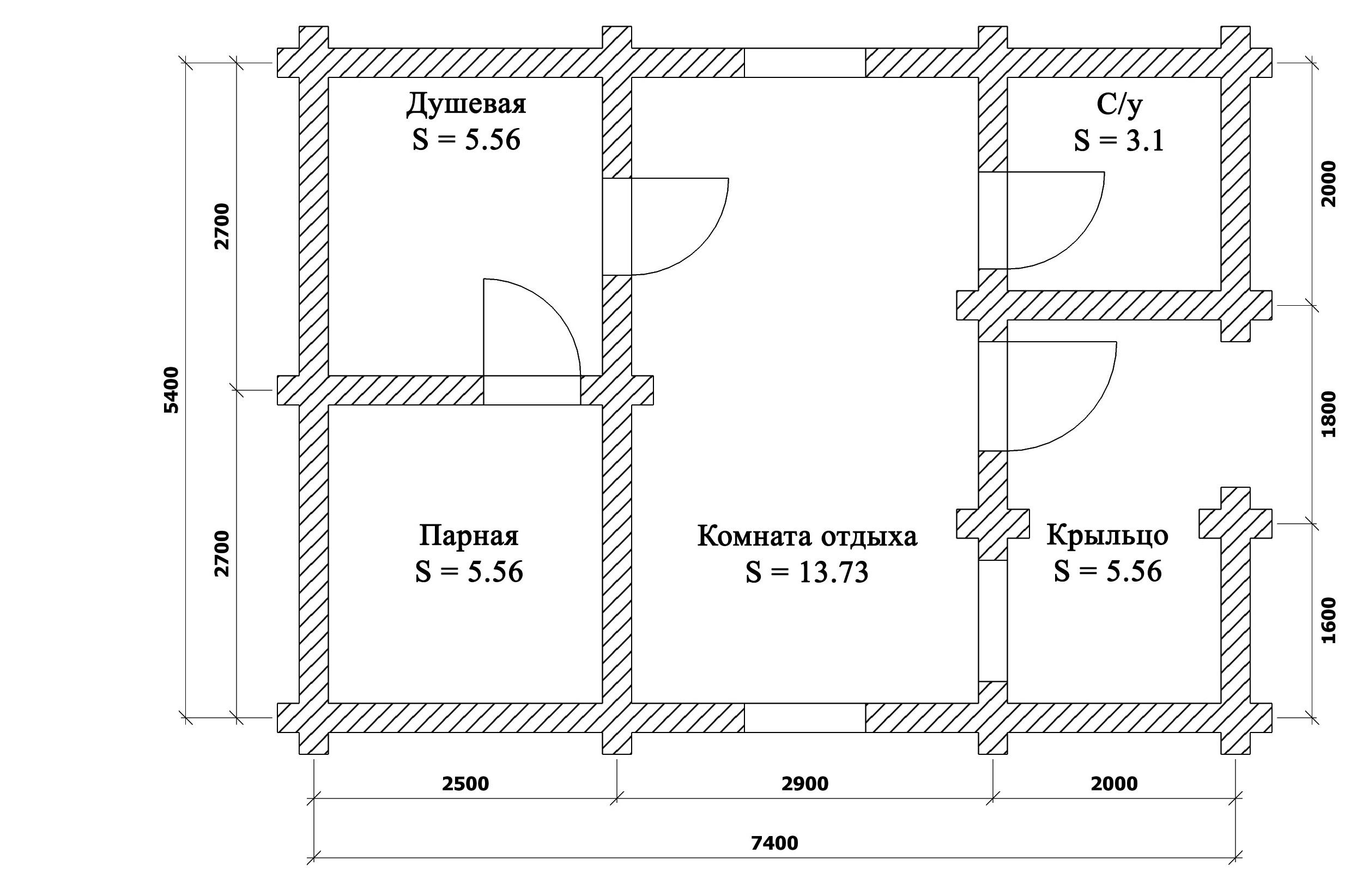 План бани (Аненков)