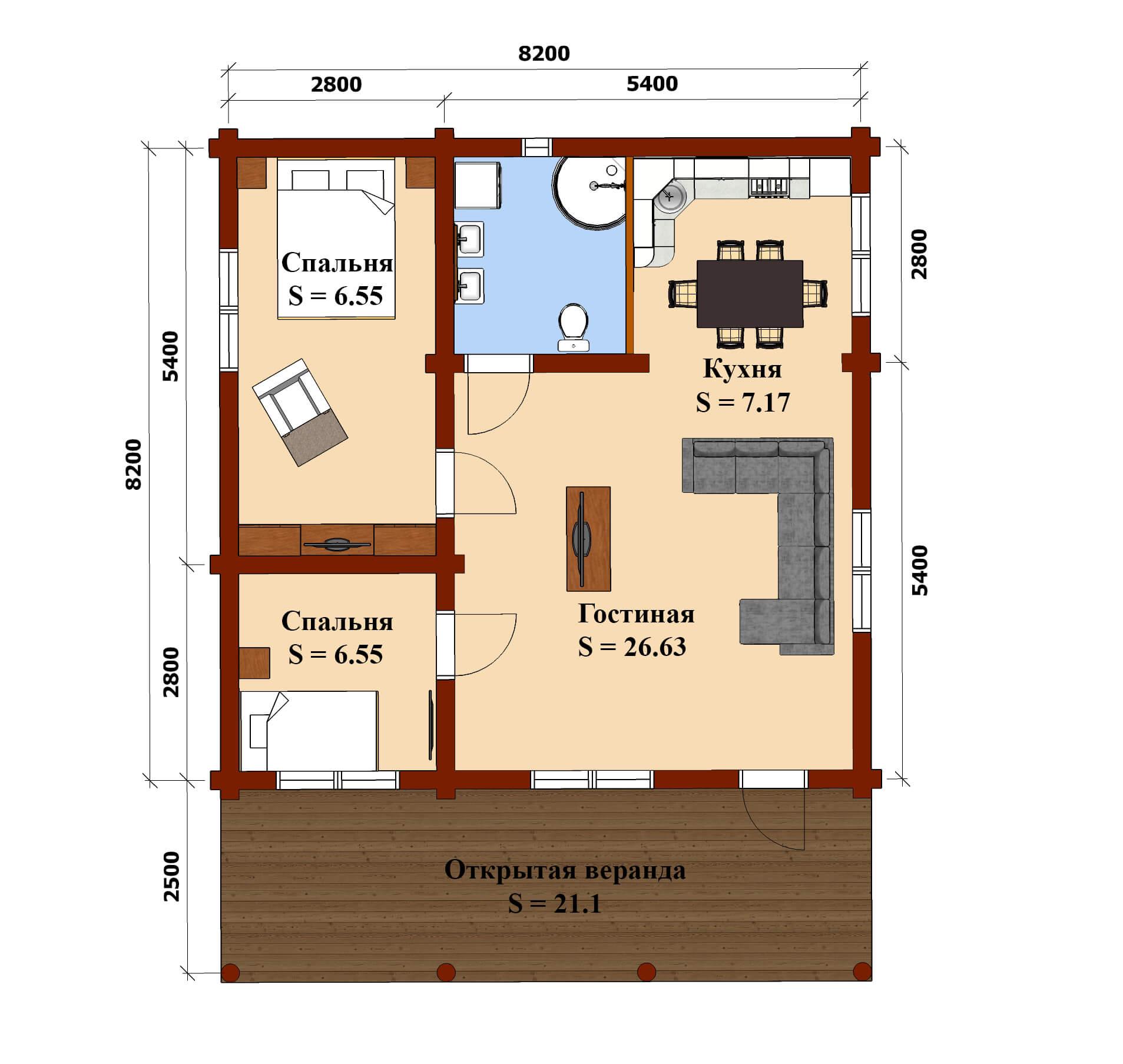 план дом рязань