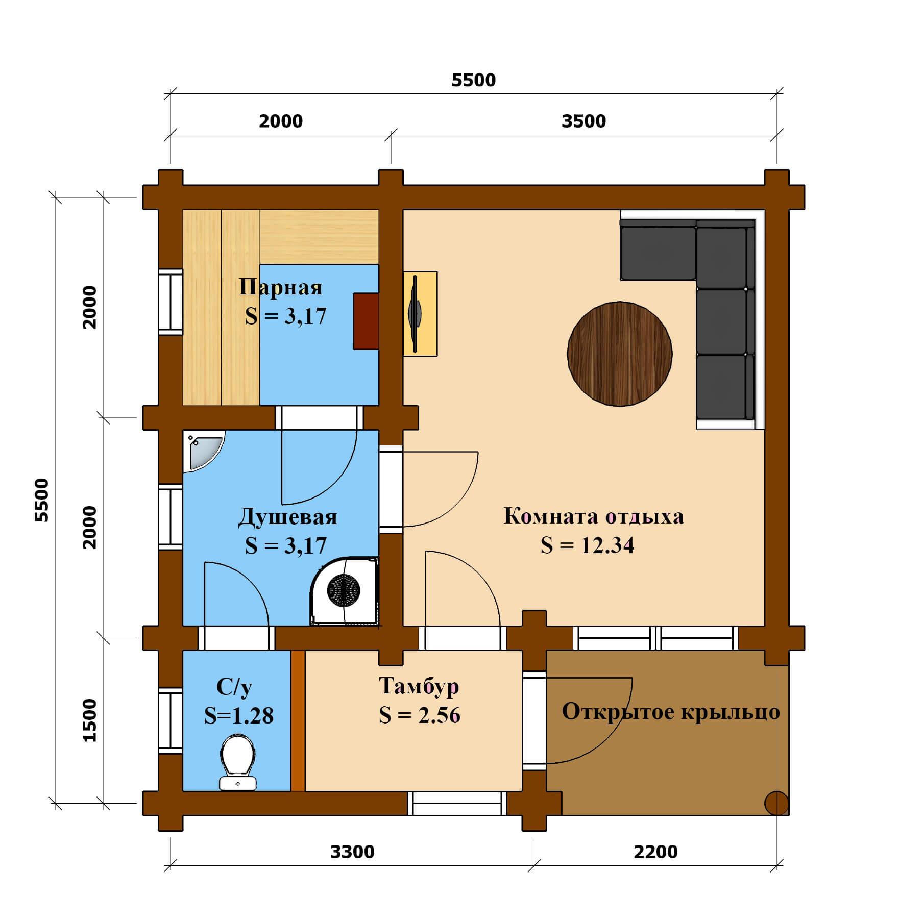 План баня 992